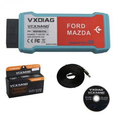 VXDIAG VCX NANO for Ford/Mazda WIFI Version