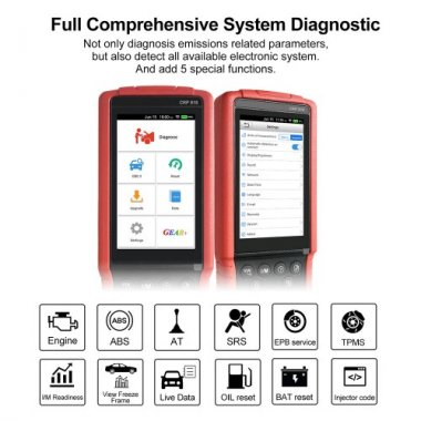 LAUNCH CRP818 diagnostic tool for European Cars